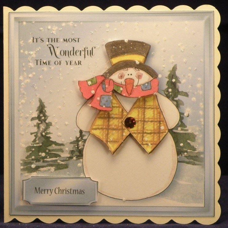 Snowman No 7 cup999971 1784