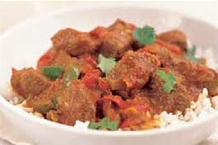 This is our Lamb Jalfrazie