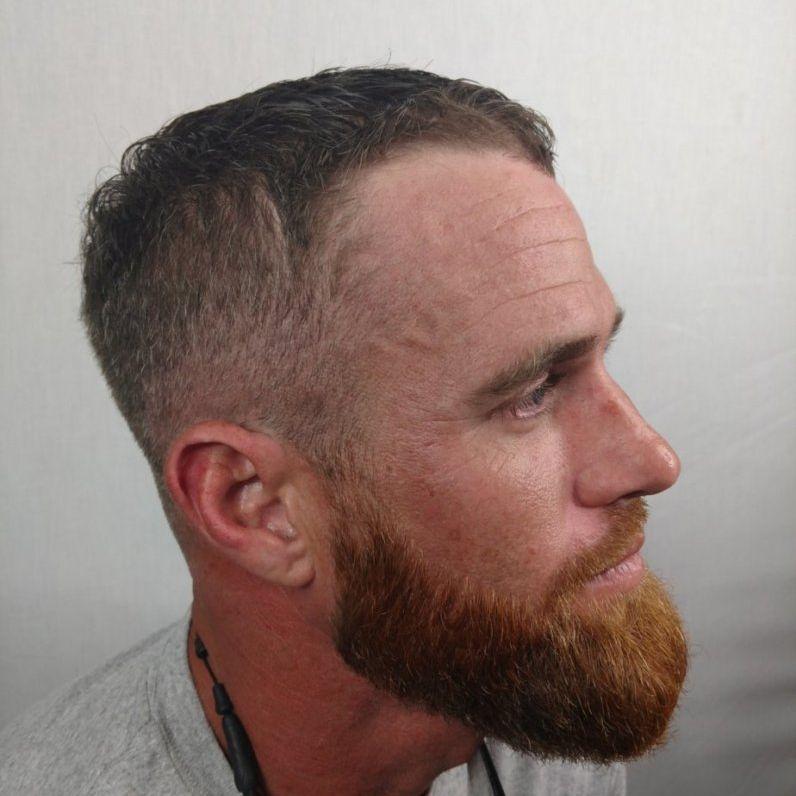 barber charlotte beard fade mens grooming mens cut clt