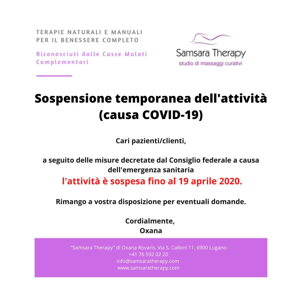 salute, benessere, massaggi curativi, linfodrenaggio, Lugano, Samsara Therapy, Oxana Rovaris