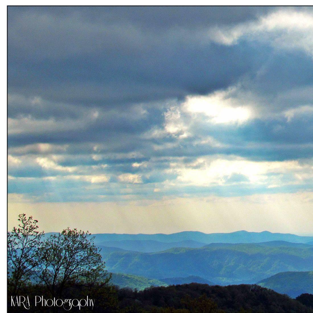 Blue Ridge Mountains, NC, Sunrise
