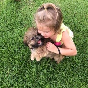 KIM PARKER'S RUBY WITH GRAND DAUGHTER SUMMER
