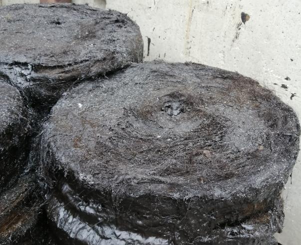 Пакля смоляная битумная Уралканат