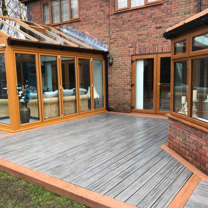 Trex composite decking fitter Swansea