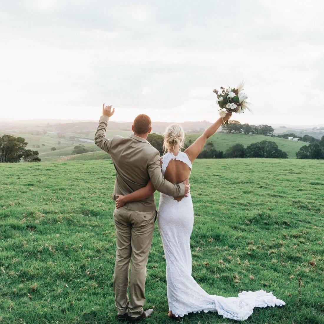 Teanna and Jye's Byron View Farm Wedding