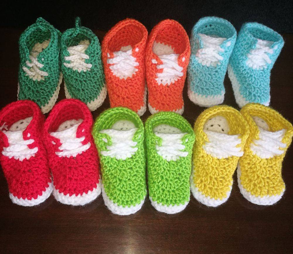 Baby Converse Handmade