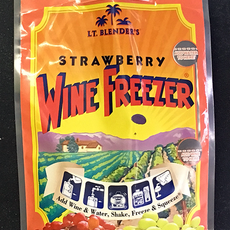 Wine Freezer Strawberry