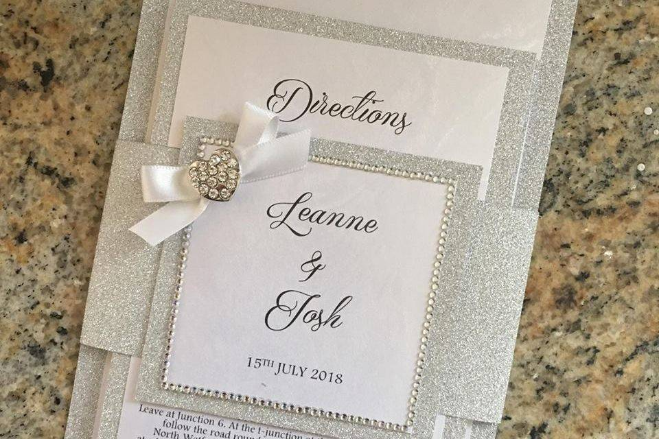 lasercut wedding invitations