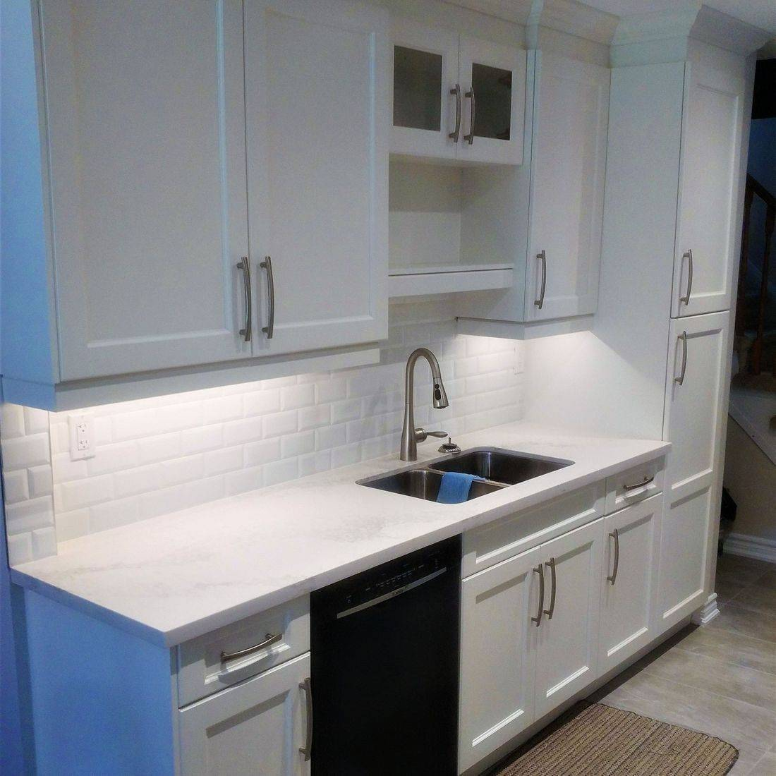 Sibra Kitchens Markham Toronto white maple shaker cabinets
