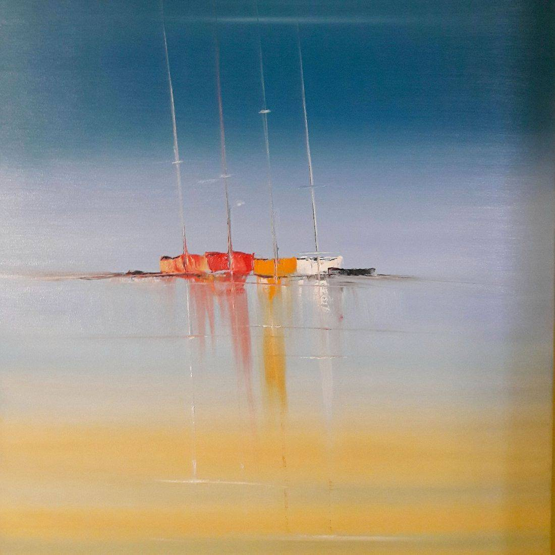 Windless Masts 90x60x4cm
