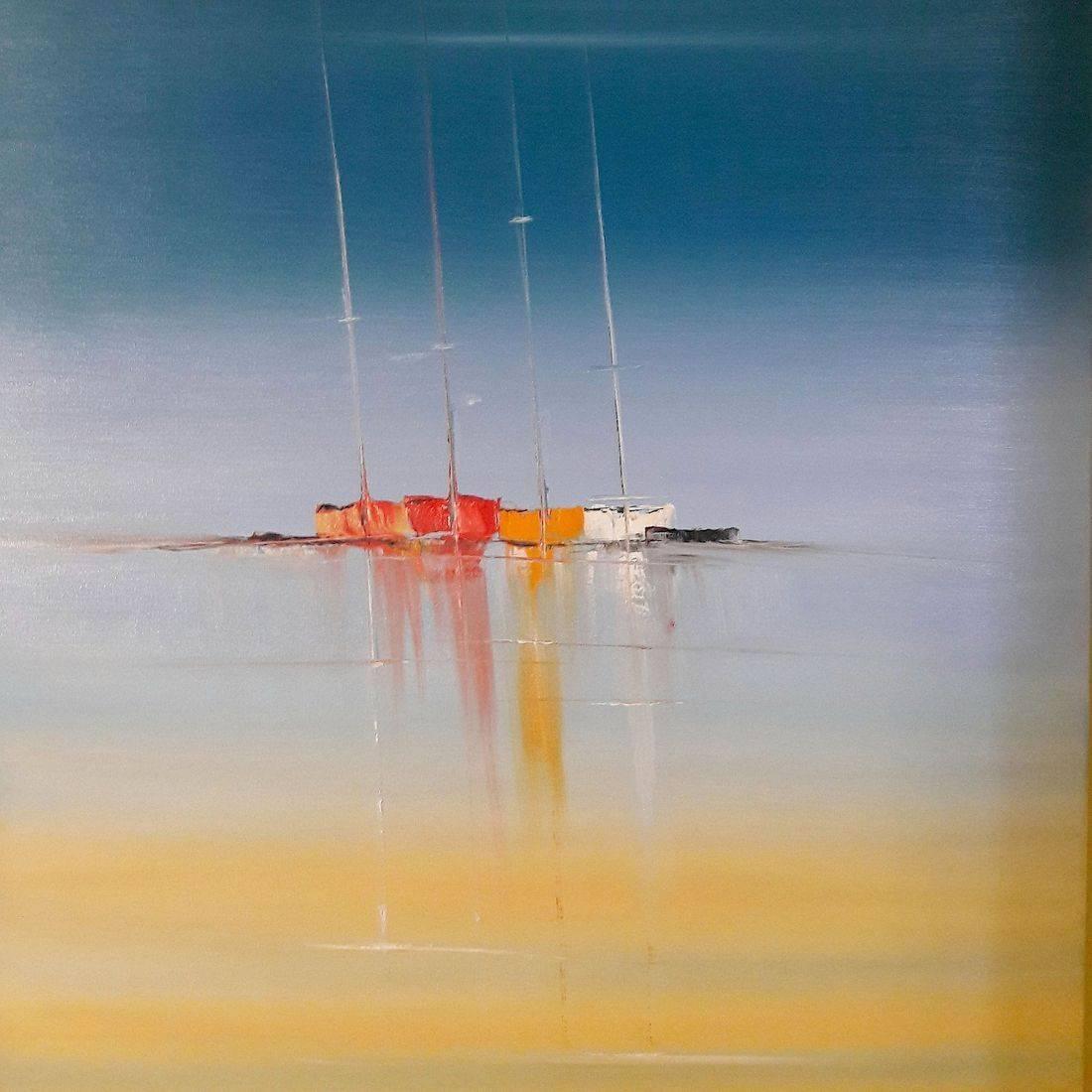 Windless Masts 90x60x4cm