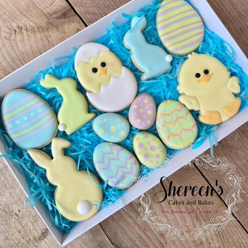Easter Cookies bunny egg rabbit chick