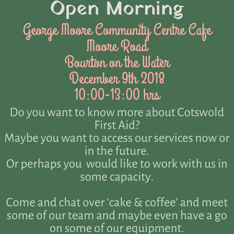 Cotswold First Aid