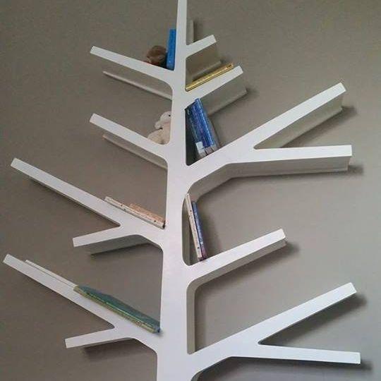 Custom childrens room decorative bookshelf