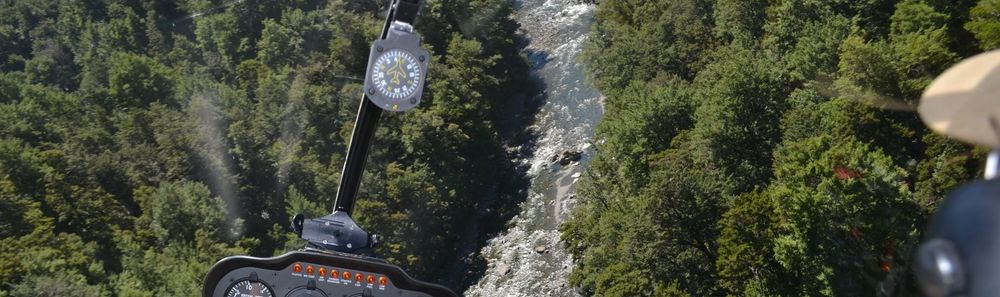 Helicopter to the backcountry to have a chance at trophy fish and gin clear water