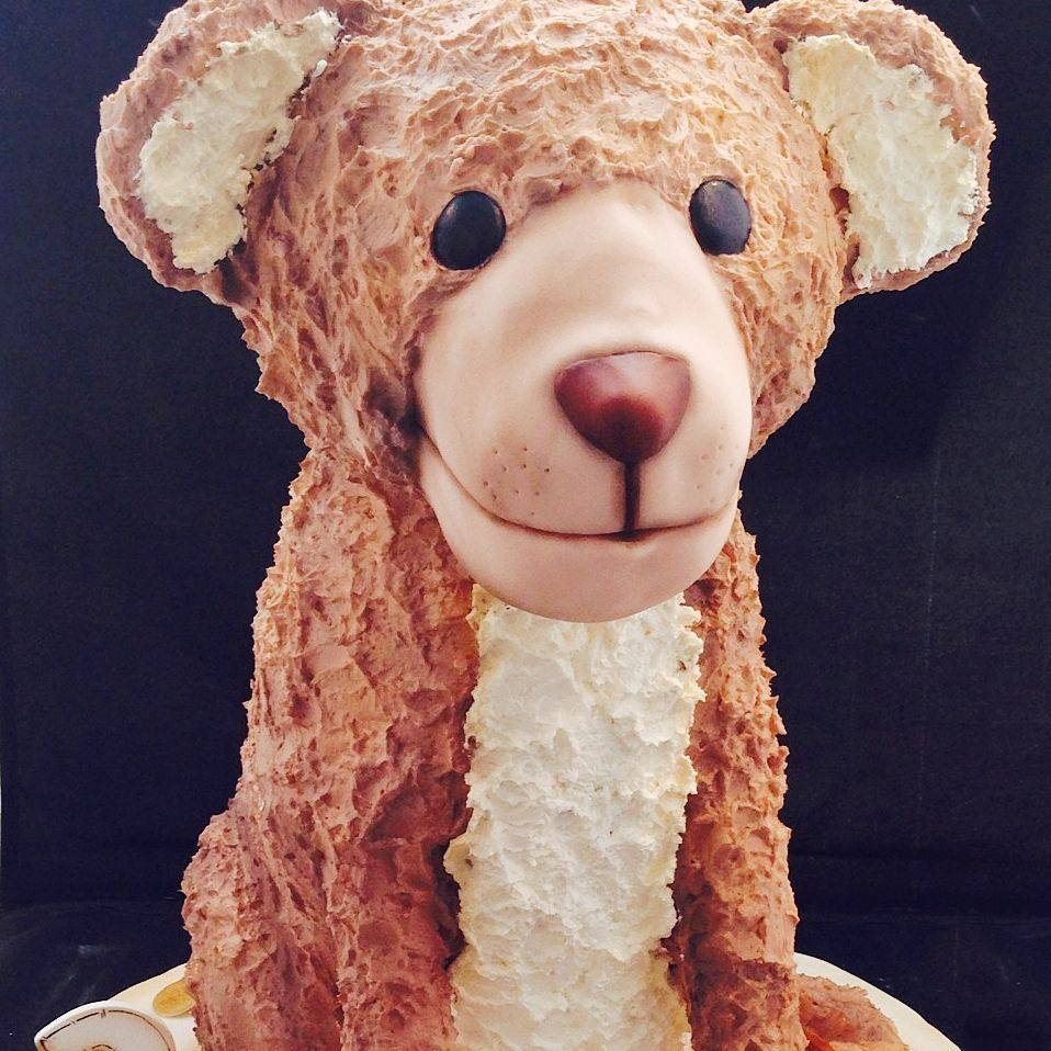 Lion Cub Sculpted Carved Dimensional Cake