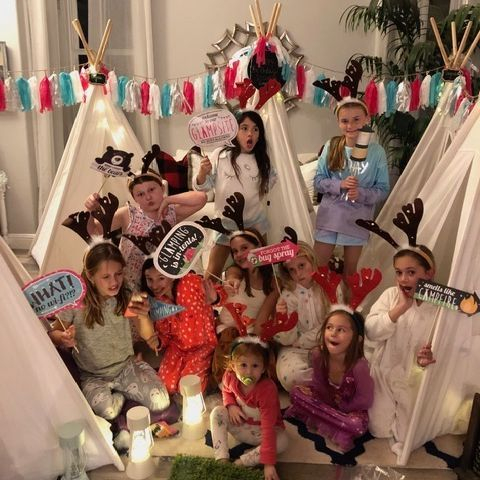 Kids party rentals, teepee rentals, kids parties, kids party planner, sleepover party, Newport Beach, Orange County, California