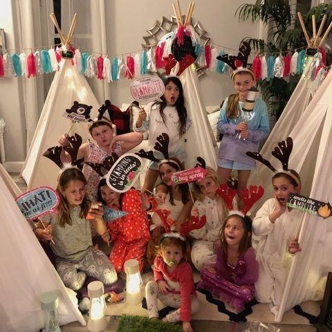 Kids party rentals, teepee rentals, kids parties, kids party planner, sleepover party, Newport Beach, Orange County, California