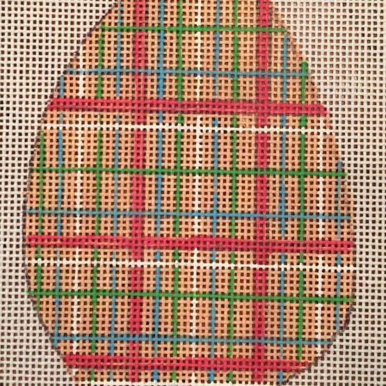 easter egg, plaid, ornament, spring
