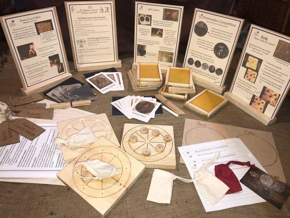 Roman Wax Tablets, Roman Games, Roman Coins, Gladiator School, Roman Curses Carousel Pack