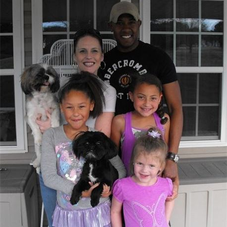 THE BRANTLEY FAMILY WITH SCOUT AND RANGER