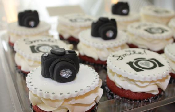 Camera Custom Cupcake Toppers Milwaukee