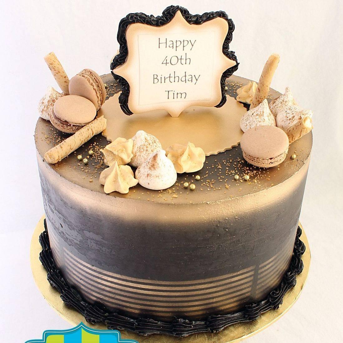 Black Gold stylized cakes milwaukee