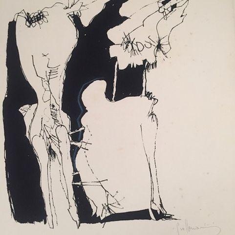 Guillermo Nuñez, print, Paris 1974-80