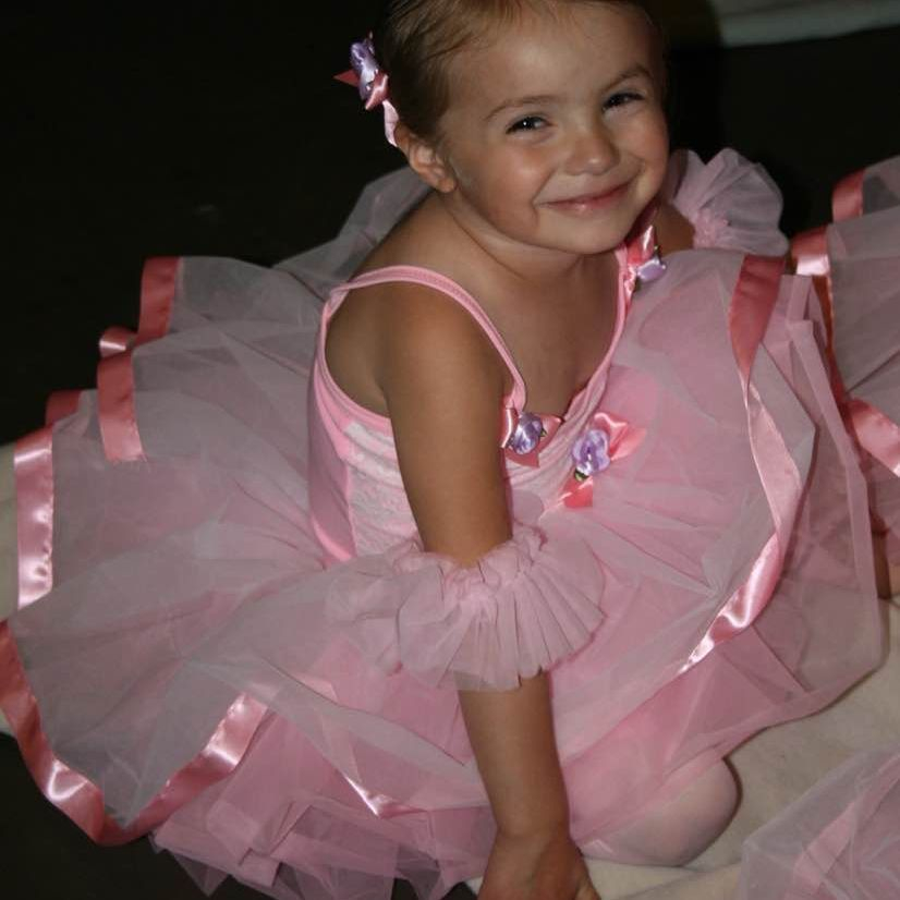 Sweet smiles from a sweet ballet dancer before our Spokane performance!