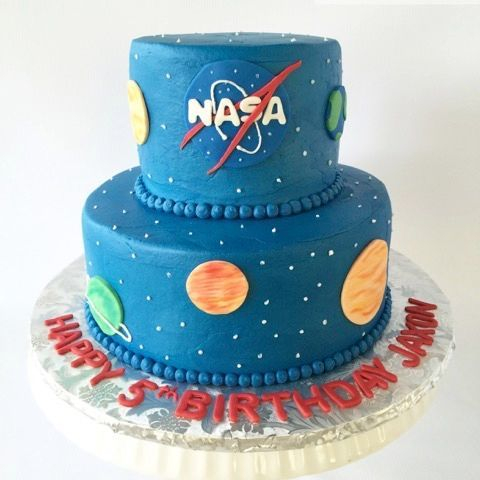 NASA Space themed Cake