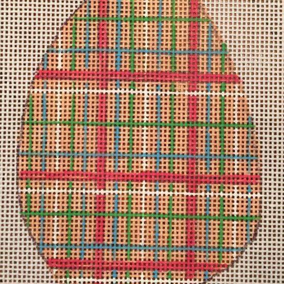 Easter Egg, plaid, spring