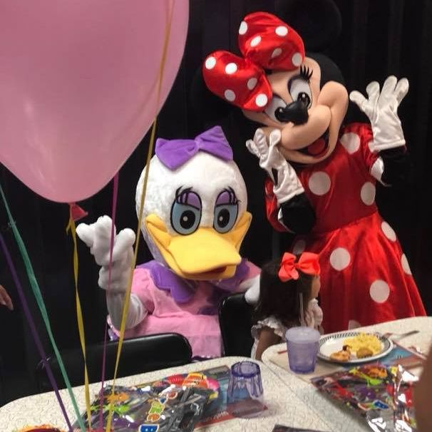 mrs.D and Mrs. Mouse