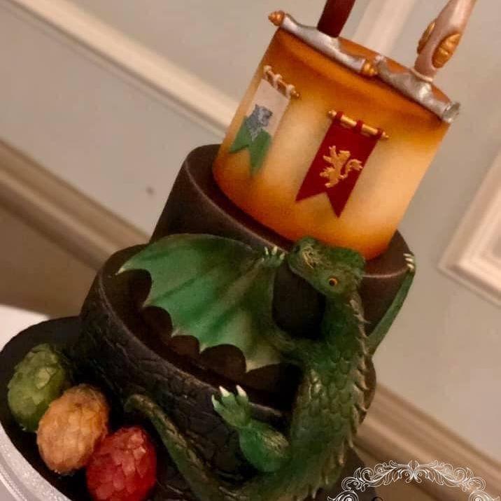 Game of thrones wedding cakes