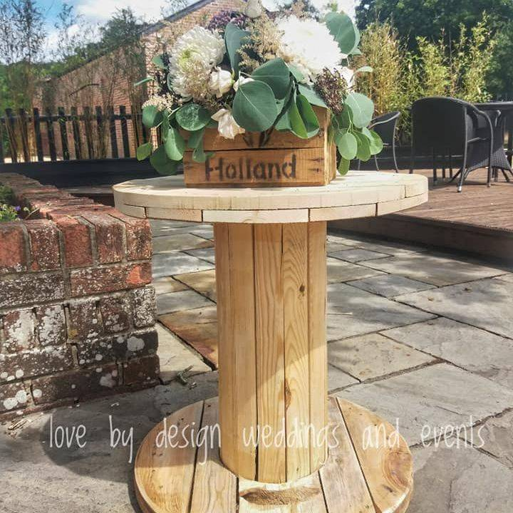 rustic wedding props for hire wedding decoration service dorset