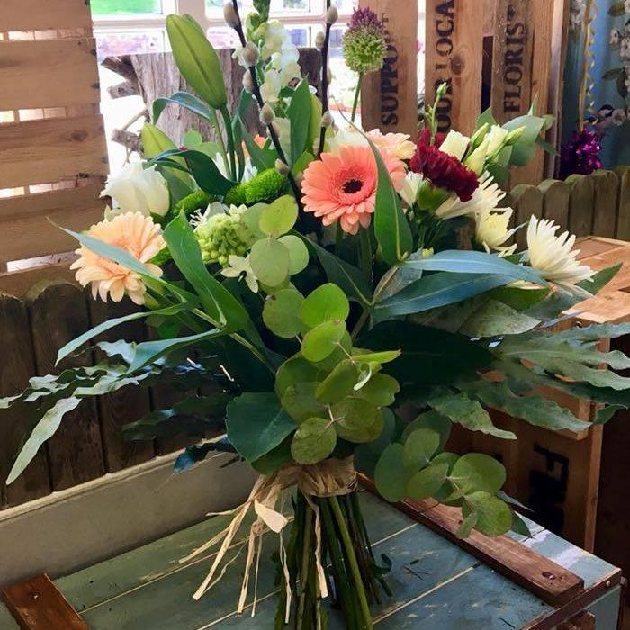 Naked florist choice bouquet
