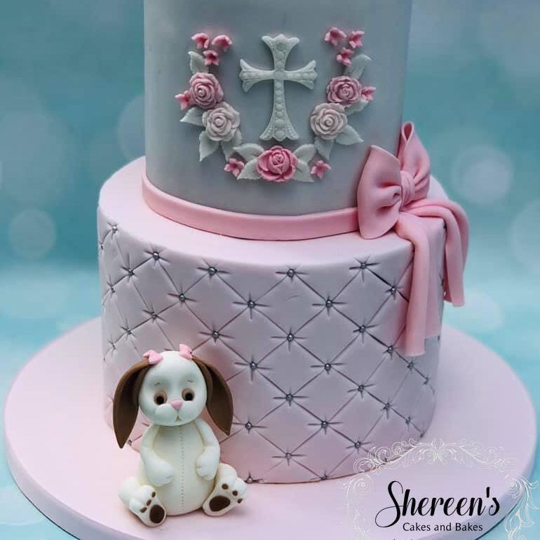 Birthday Cake Bunny
