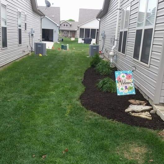 Madovi Mulch Job