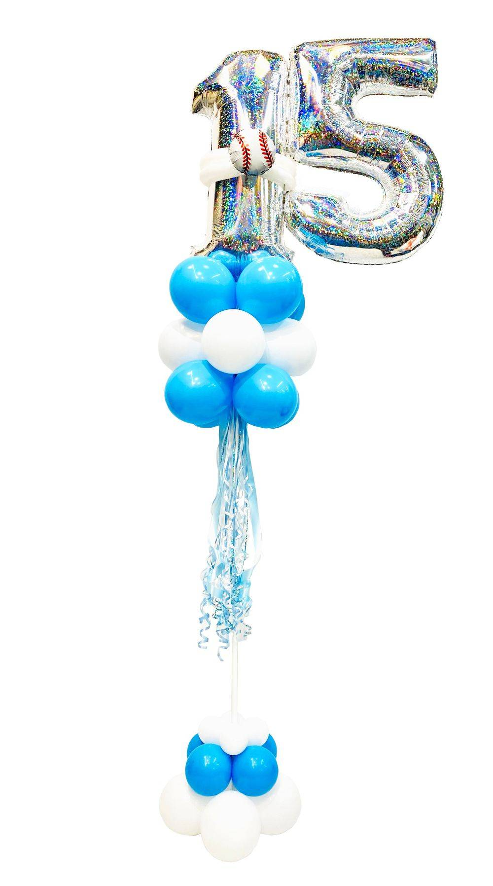 Milestone Balloon Tree w/sports ball