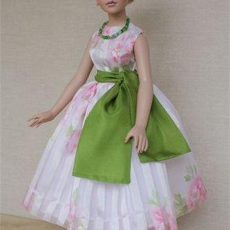 "18"" Kitty Collier Doll Dress"