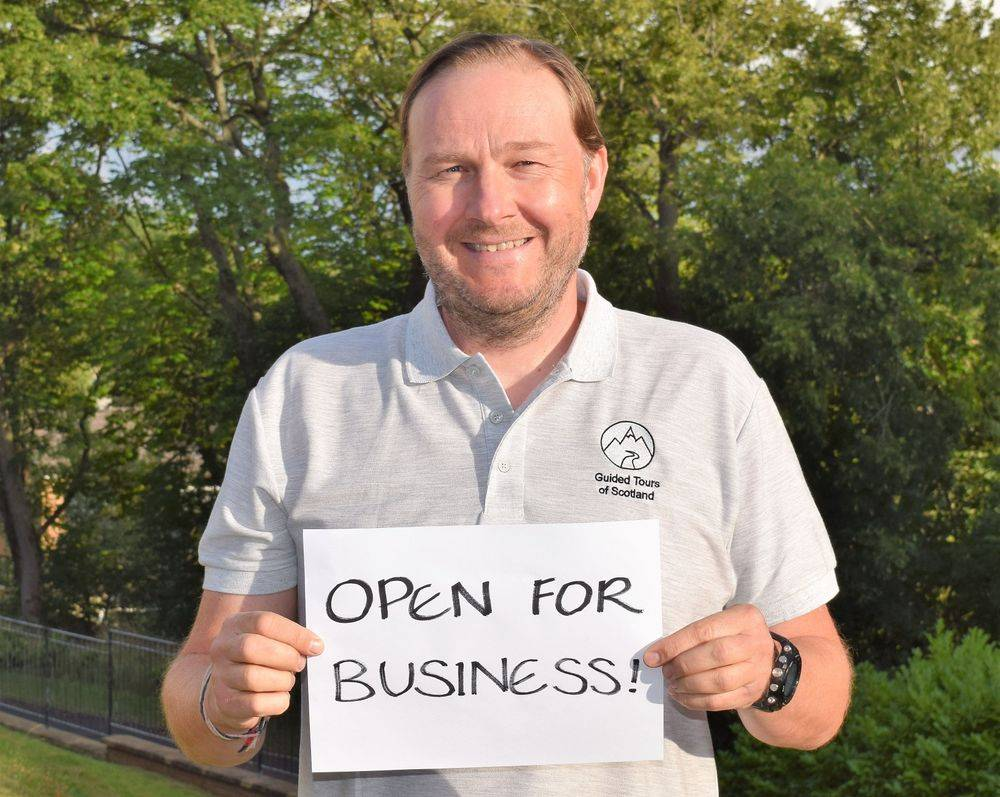 guided tours of scotland is open for business 2021
