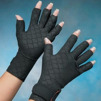 Provides light but firm compression and support
