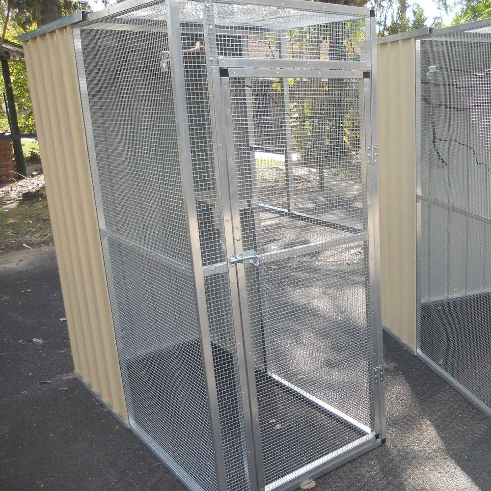 Bird aviaries, made to order or buy from stock.