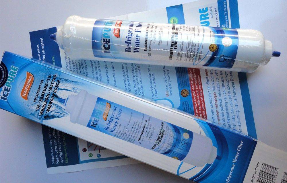 IcePure RFC0300A & RWF0300A replacement fridge ice water filter cartridge - www.aaafilterfast.com