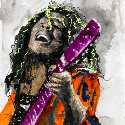 DCooper - Bob Marley - Giclee - 12x18 - $139