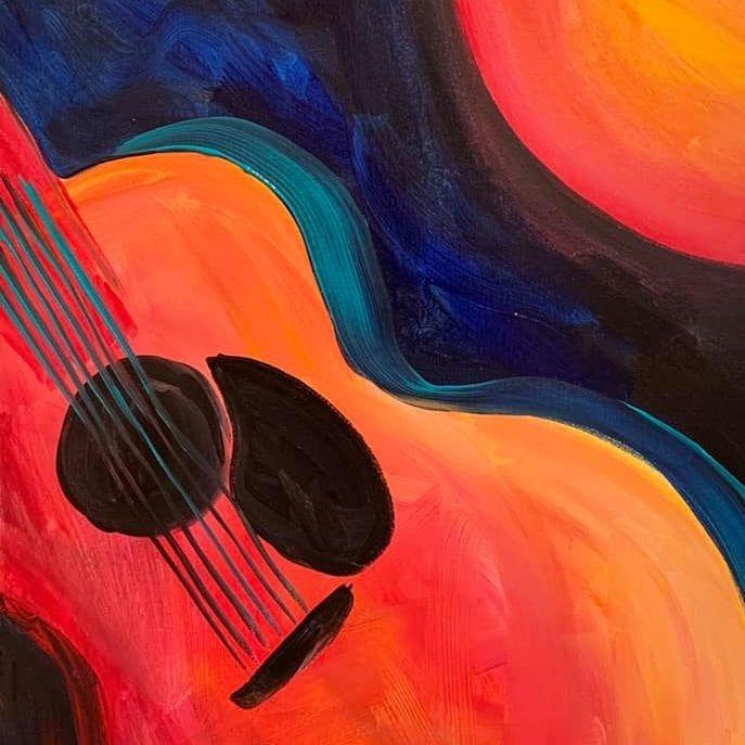 Guitar by Orange Moon