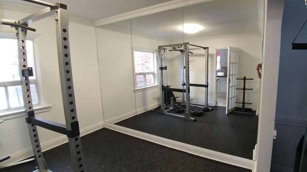 Mirror Wall for home gym, Toronto, Markham, Newmarket, Bradford