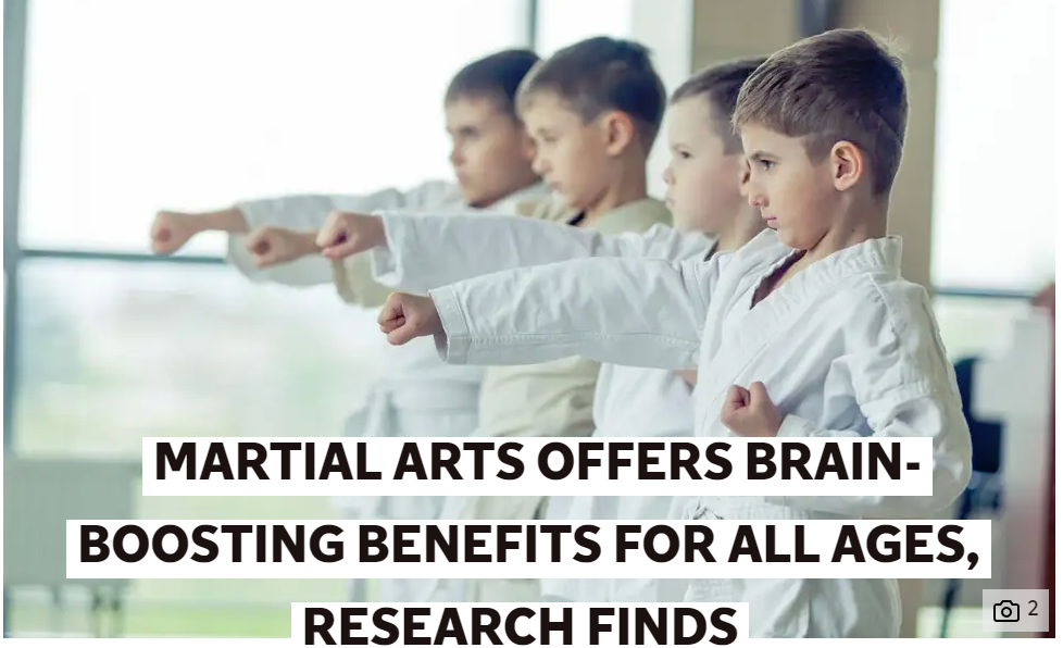 Benefits of martial arts for all ages