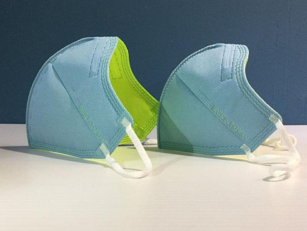 Aurora 3D high efficiency reusable medical face mask
