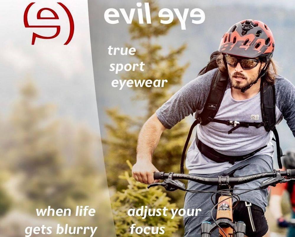 Sportzonnebril Evil eye