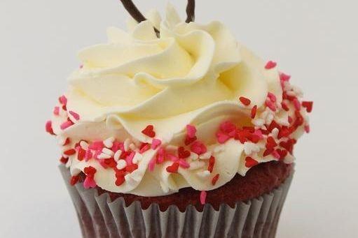 Red Velvet Nothing But Love Cupcake